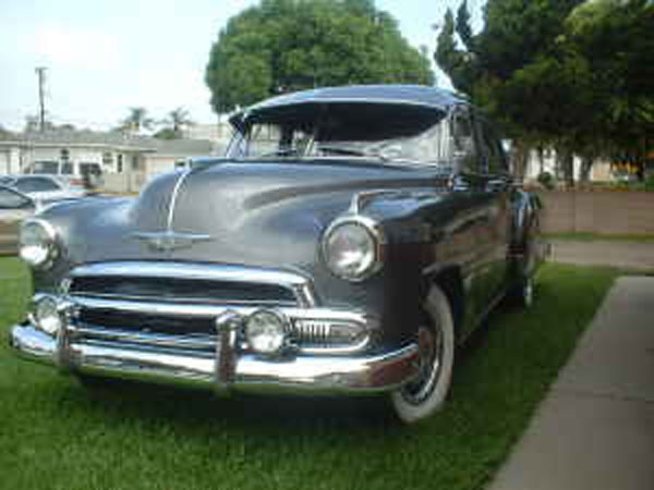CHEVROLET PICTURES GALLERY 1950-1955