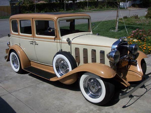 1930 1935 chevrolet photographs and technical data for 1932 chevy 4 door sedan