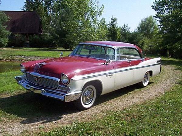 Chrysler photographs and technical data all car central for 1956 chrysler new yorker 4 door
