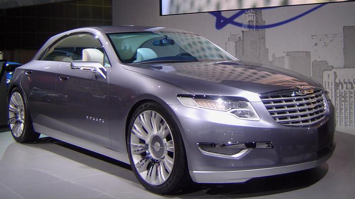 Chrysler ecoVoyager Concept 2008 · Chrysler Nassau 2008 · Chrysler Firepower