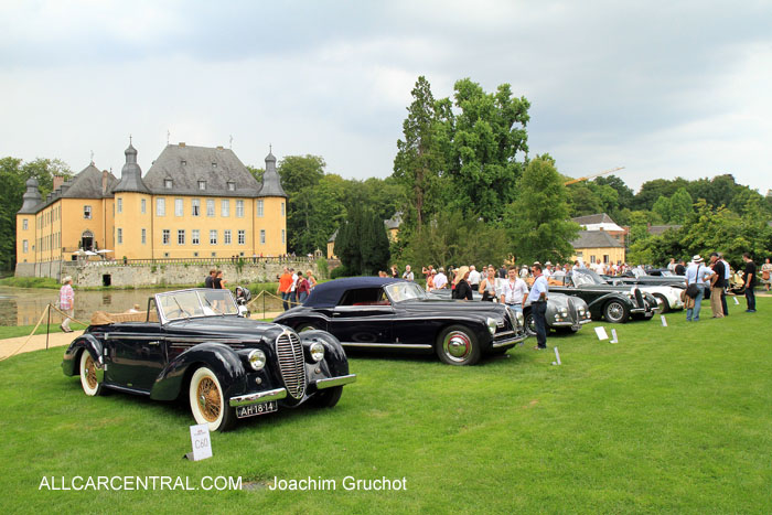 classic days at schloss dyck 2014 all car central magazine. Black Bedroom Furniture Sets. Home Design Ideas