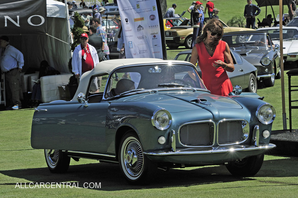 Fiat 1200 TV Roadster 1959 Concorso Italiano 2019