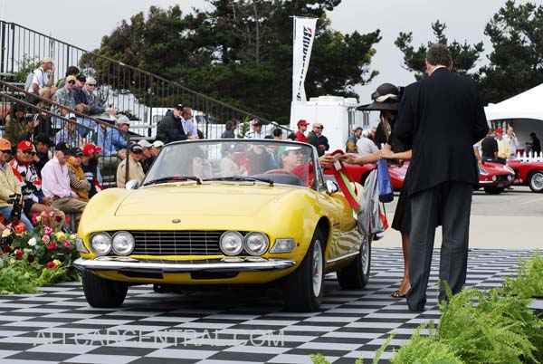 Fiat 206 Dino Spider 1968, 3rd Place