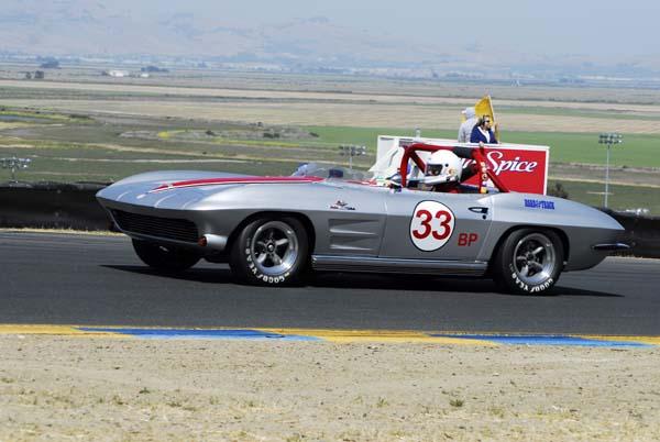 alfa img   showing gt 1964 corvette track car