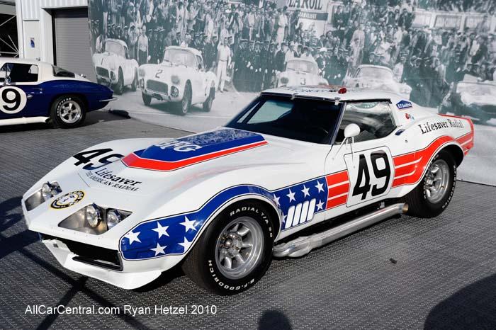 Corvette 1973 Le Mans Car American Le Mans Series Monterey 2010