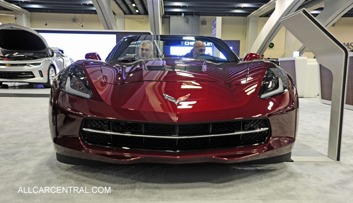 Corvette Stingray sn-1G1YD3D79G5107800 2016