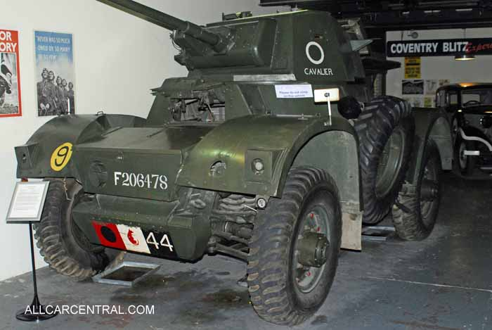 Daimler Mark 1 Armoured Car 1943 Coventry Transport Museum