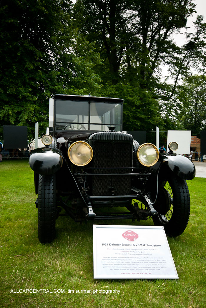 Daimler Double Six Broughm 1929