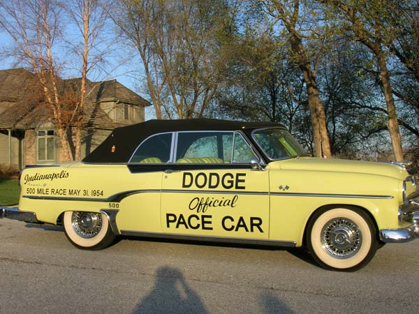 Dodge Pace Car Convertible 1954