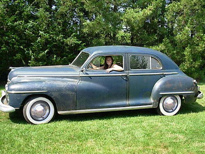 Dodge photographs and technical data all car central for 1948 dodge 2 door sedan