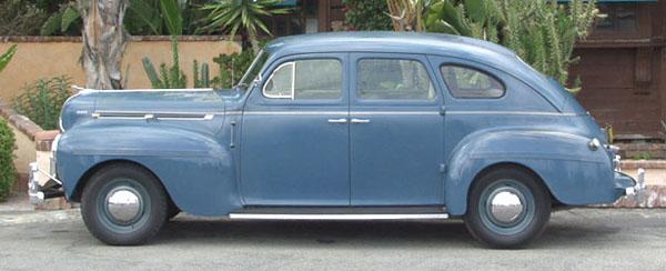 Dodge photographs and technical data all car central for 1940 dodge 4 door sedan
