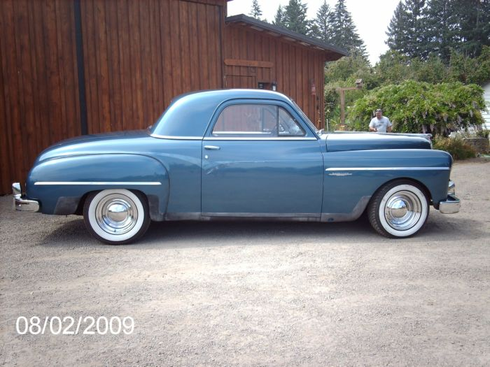 Dodge Wayfarer Coupe 1949