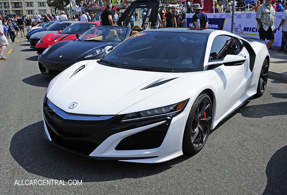 Acura NSX sn-19UNC1B04HY000386 2017 Exotics On Cannery Row 2017