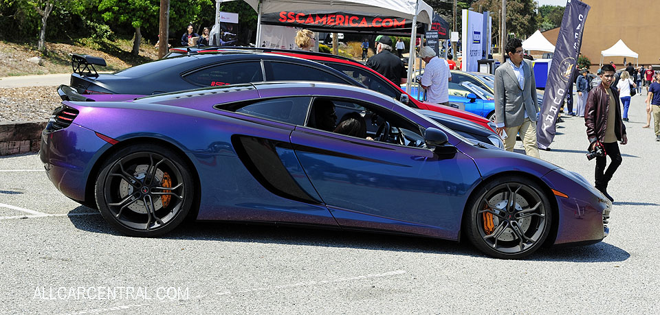 Mclaren MP4-12C sn-SBM11AAA2CW001707 2012 Exotics On Cannery Row 2017