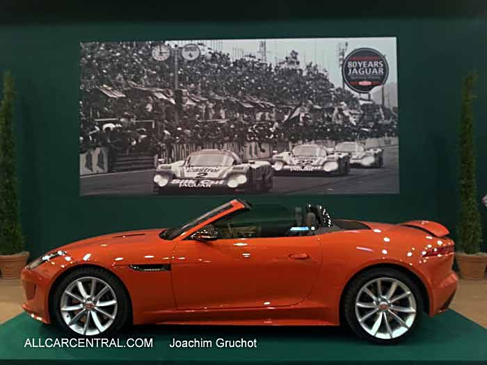 2015 Jaguar F-Type Roadster Essen Motor Show 2014