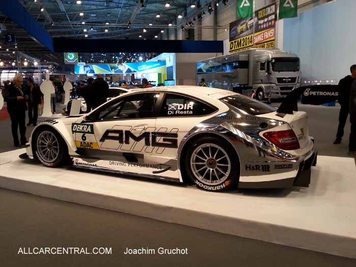 Mercedes C Class Coupe of Paul di Resta, Essen Motor Show 2014