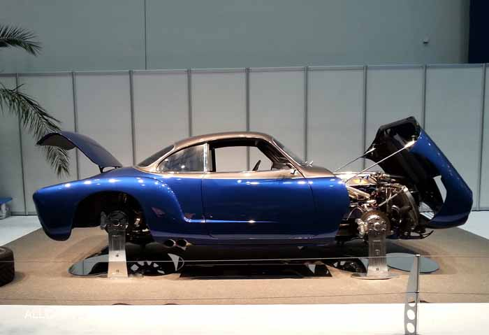 Blue Mamba 1967 Karmann Ghia,Viper V10 engine, 650 HP. Owner: Keith Goggin (New York, N.Y.)  Essen Motor Show 2014
