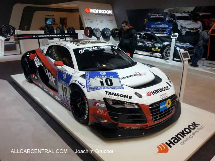 Audi R8 GT3 LMS Ultra Team Prosperia C. Abt Racing. Essen Motor Show 2014