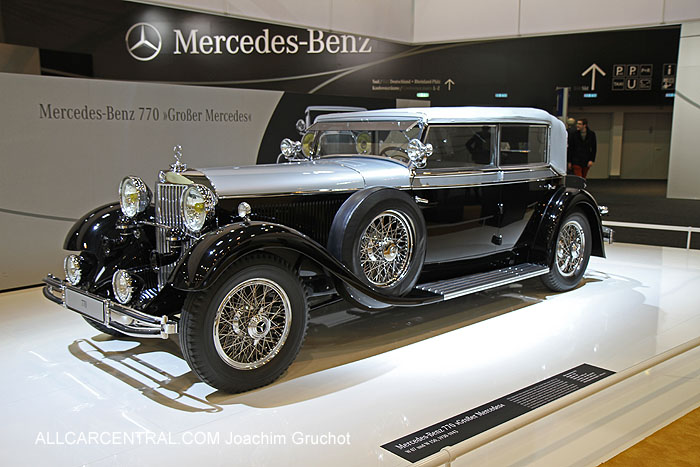 Essen techno classica 2013 car show gallery 1 all car for Mercedes benz 770 for sale