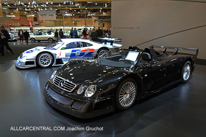 Mercedes-Benz CLK-GTR Roadster  2005 Essen Techno Classica 2013