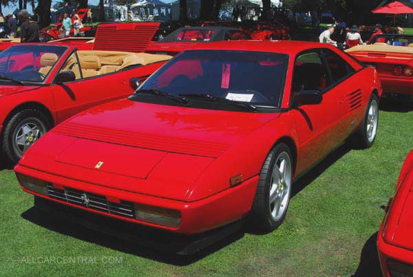 Ferrari Mondial was conceived