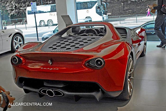 Ferrari Pininfarina Sergio Concept 2013 All Car Central Magazine