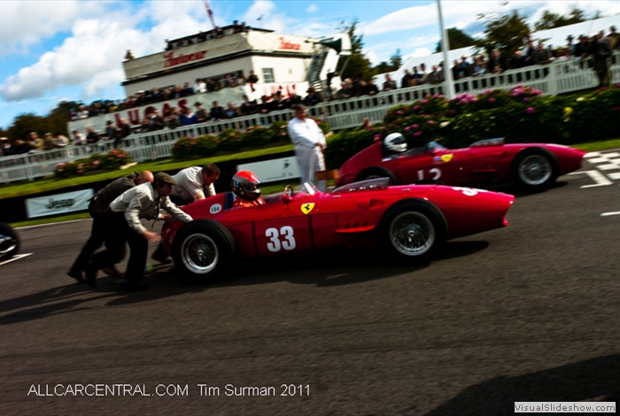Ferrari 246 Dino 1959 Goodwood Revival 2011 Revival Tim Surman 2011