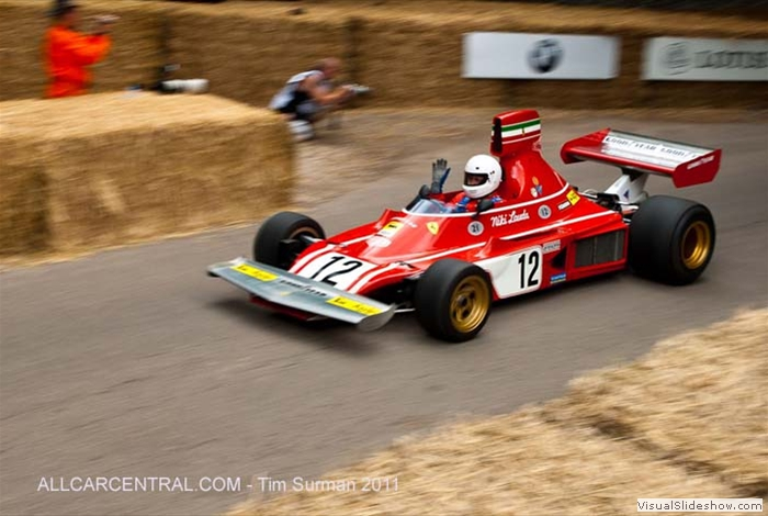 Ferrari 312 B3 1973 Goodwood 2011 200462 Tim Surman 2011