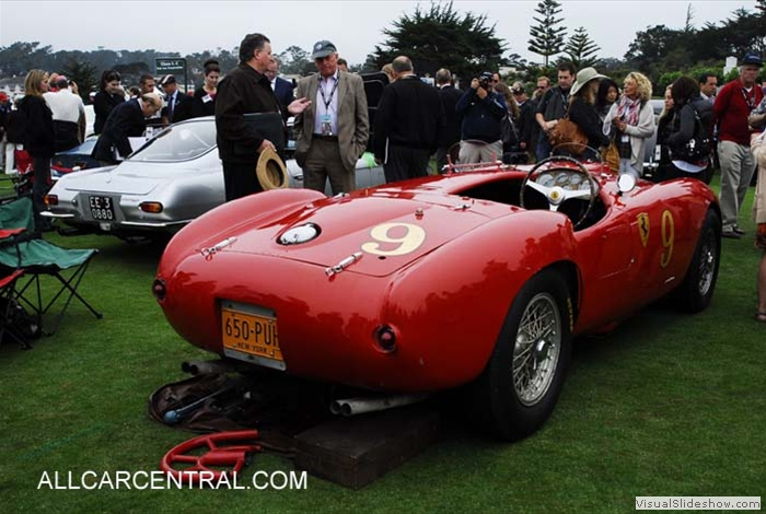 Ferrari 375 MM Pinin Farina Spyder sn-0382AM 1953 PBC0688 Pebble Beach 2010