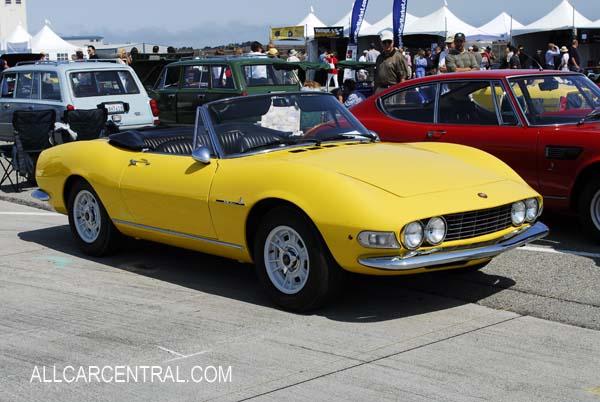1969 Fiat Dino Spider. Fiat 206 Dino Spider 1968