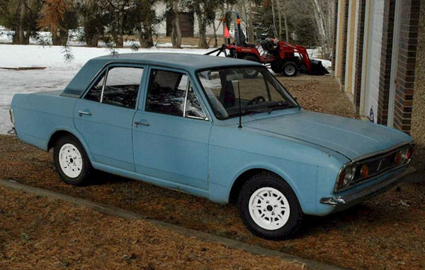 Ford Cortina 4-door 1968