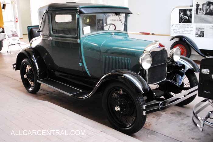 Ford A SportCoupe sn-A1154 1928