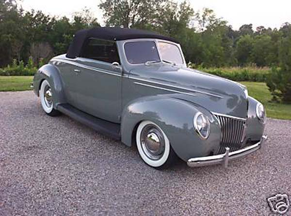 Ford Convertable coupe 1939