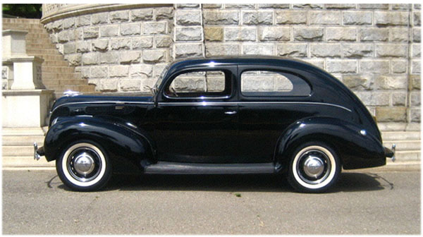 Ford Deluxe Tudor 1938