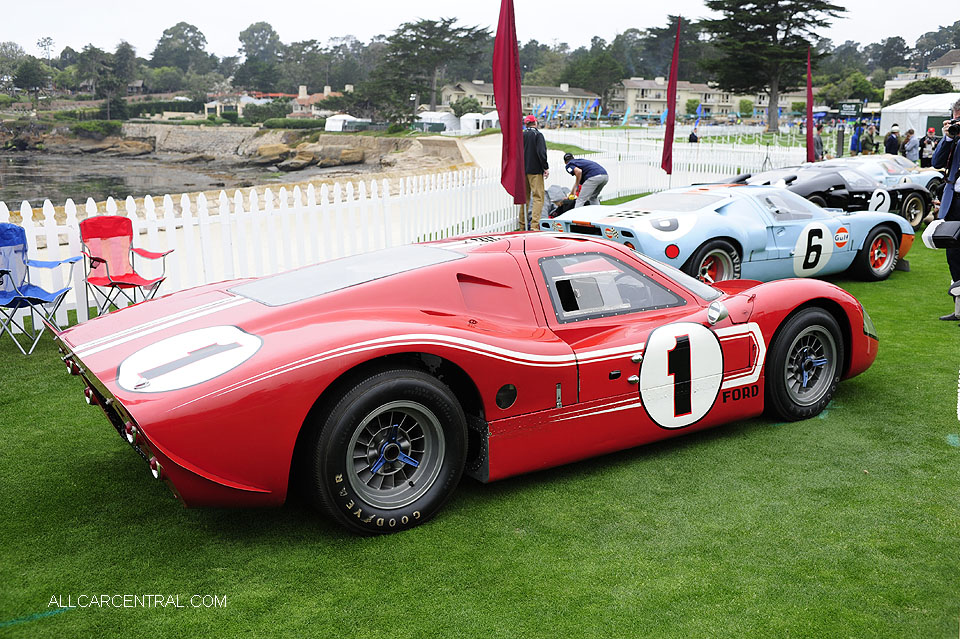 Ford GT40 J-5 Mark IV 1967 Pebble Beach Concours d'Elegance