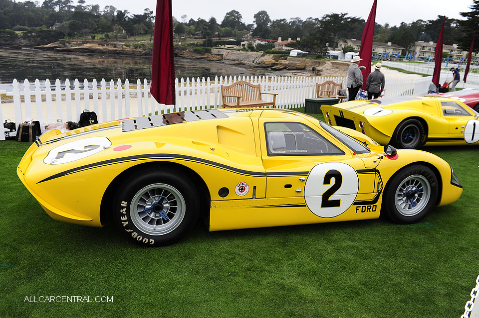 Ford GT40 J-6 Mark IV 1967 Pebble Beach Concours d'Elegance