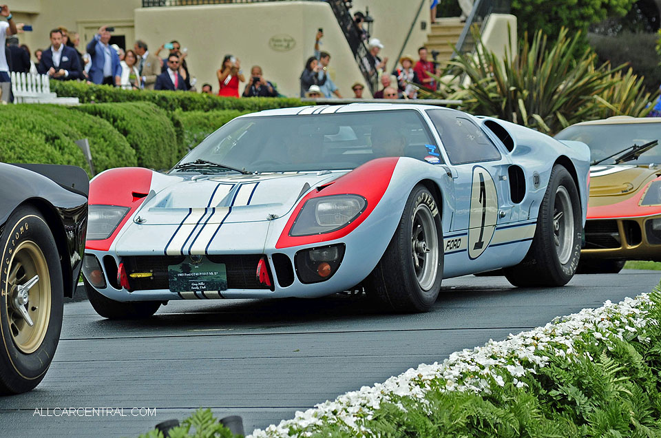 Ford GT40 P-1015 Mark II 1965 Pebble Beach Concours d'Elegance