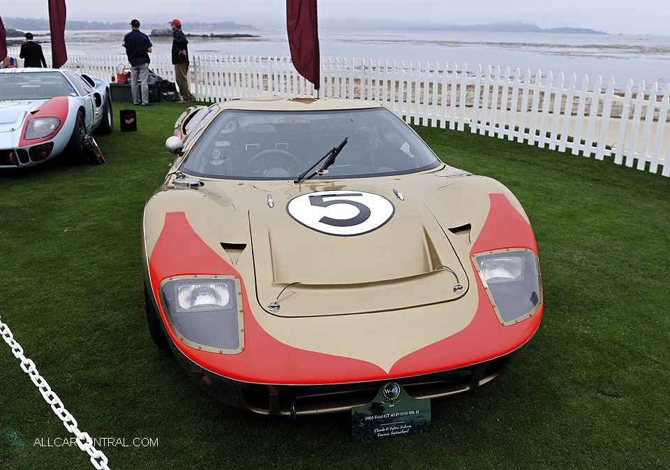 Ford GT40 P-1016 Mark II 1965 Pebble Beach Concours d'Elegance