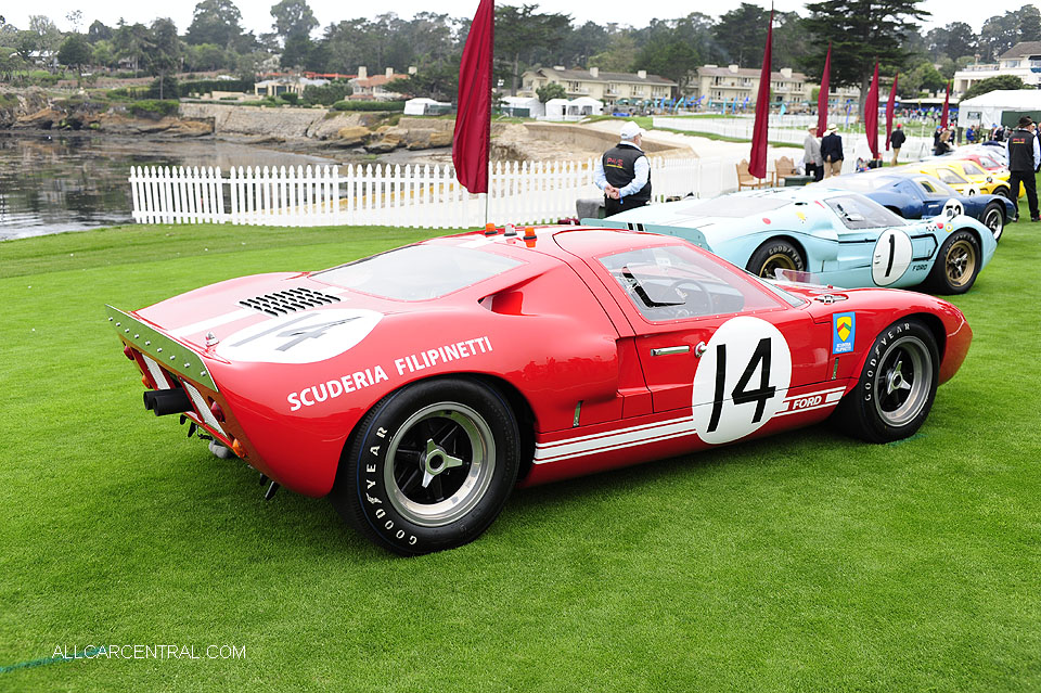Ford GT40 P-1040 Mark I 1966 Pebble Beach Concours d'Elegance