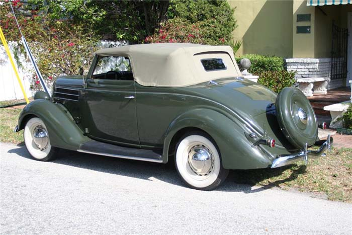 Ford convertible club coupe 1936