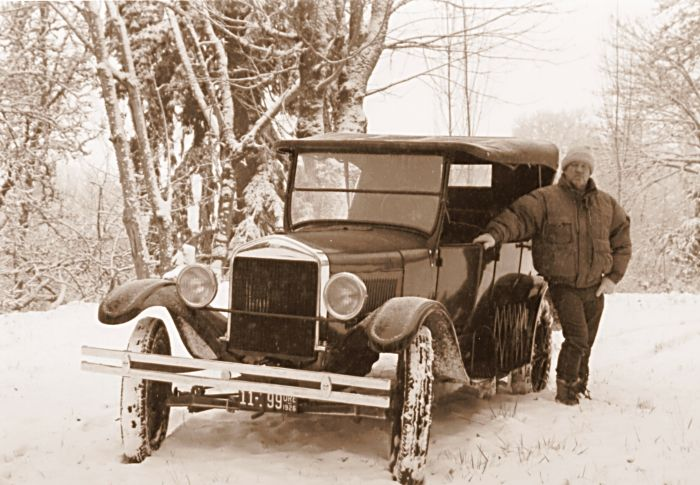 Ford Model T Touring car 1926
