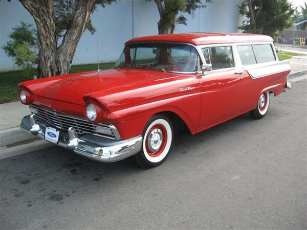 Ford wagon 1957