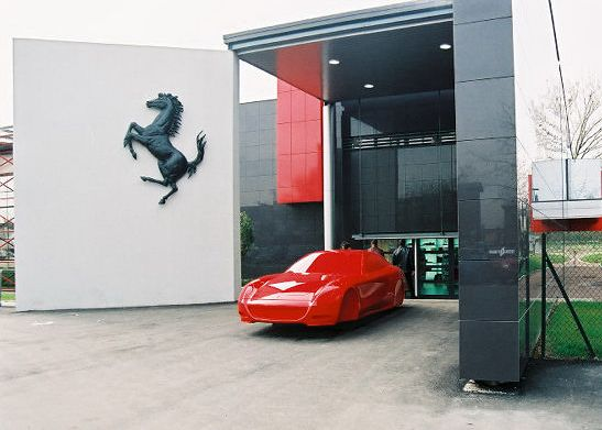 The Galleria Ferrari 