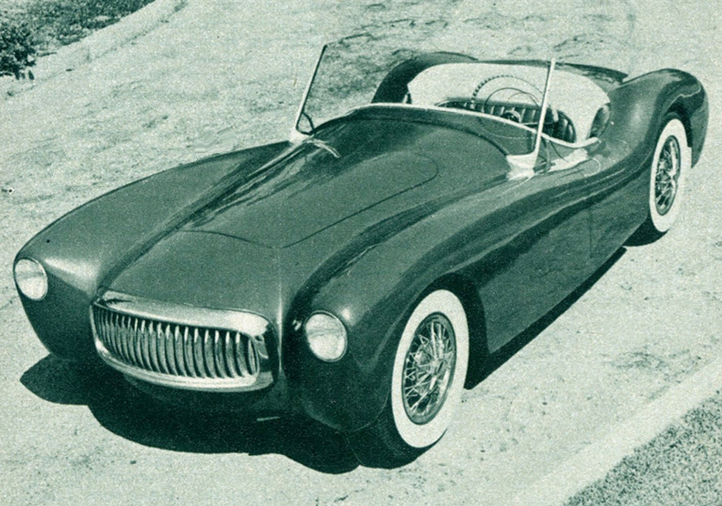 Glasspar roadster 1954