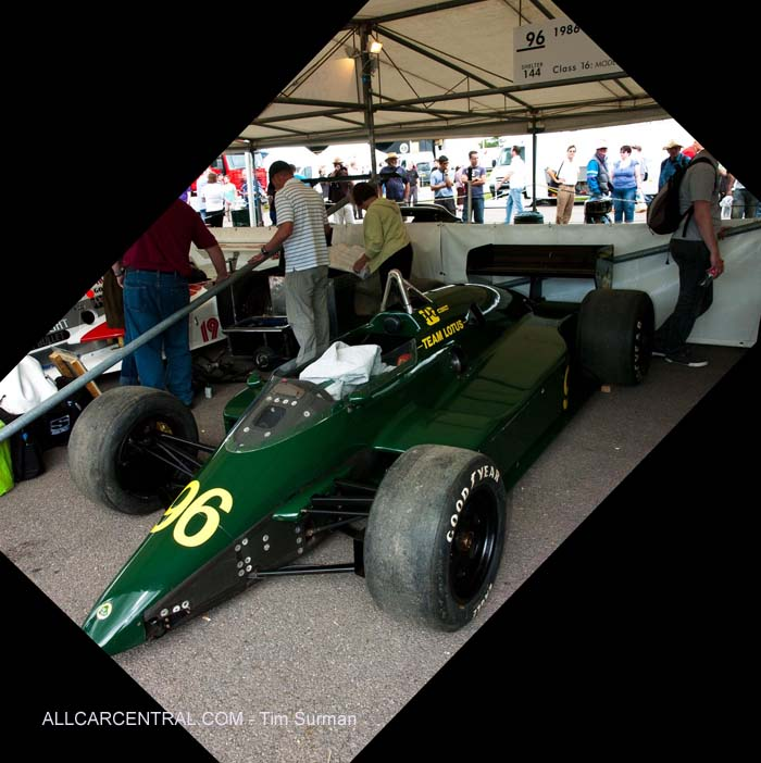 Lotus 1986  Goodwood Festival of Speed