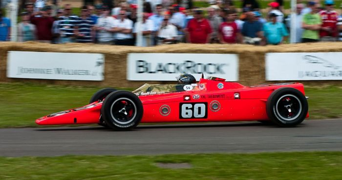 Lotus Pratt and Whitney STP Special 1968  Goodwood Festival of Speed