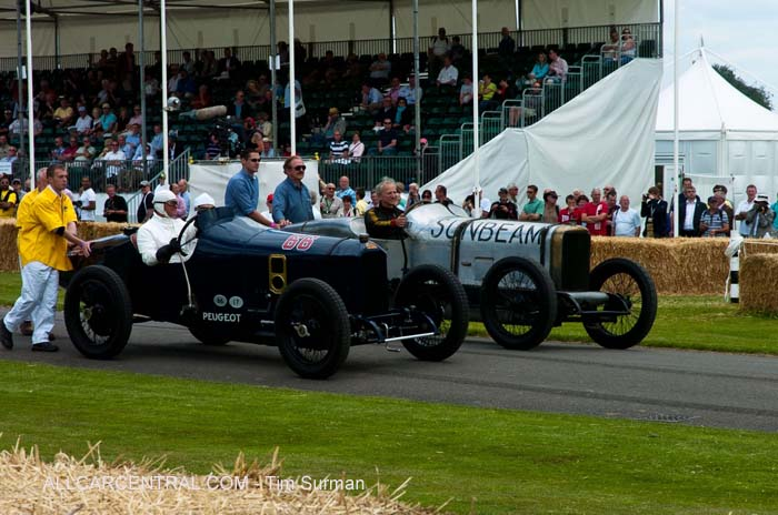 Peugeot and Sunbeam  Goodwood Festival of Speed