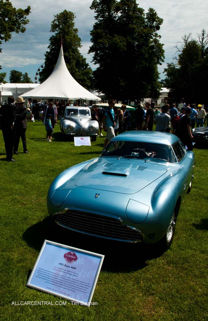 Siata 400F 1953  Goodwood Festival of Speed