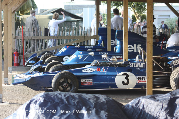 Tyrrell-Cosworth 001  Goodwood Revival 2014