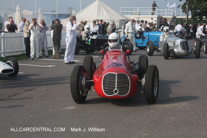 Maserati 4CLT 1949  Goodwood Revival 2014